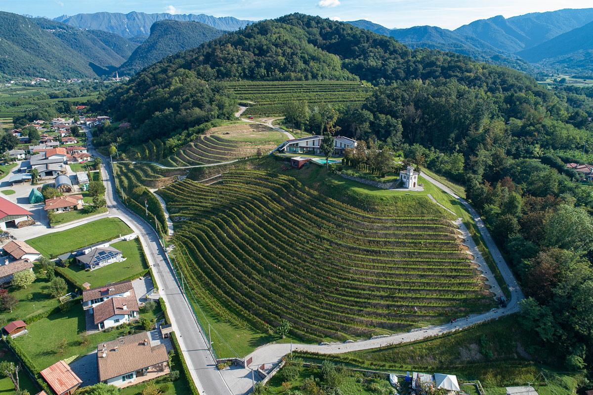 La vigna e la cantina a Nimis, nei Colli Orientali del Friuli